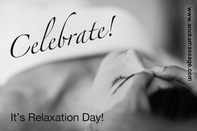 It's Relaxation Day!