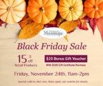 Black Friday Massage Gift Certificate Bonus