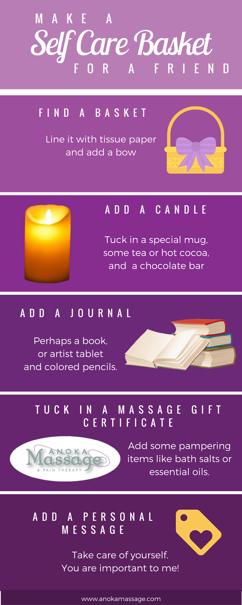 DIY Self Care Gift Baskets » Anoka Massage and Pain Therapy