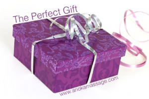 Anoka Massage Gift Certificates - the perfect gift!